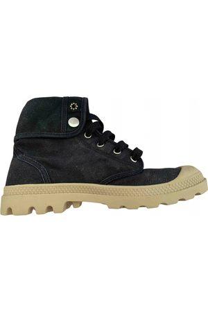 Palladium Faux fur Ankle Boots