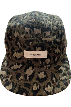 Soulland Multicolour Cotton Hats