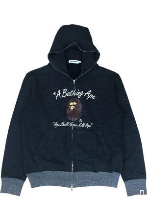 AAPE BY A BATHING APE Grey Cotton Knitwear & Sweatshirts