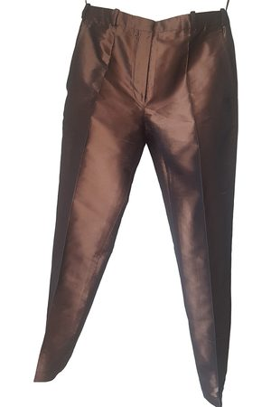 Hermès Silk Trousers