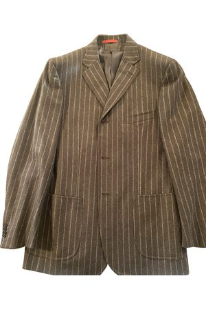 ISAIA NAPOLI Men Suits - Wool Suits