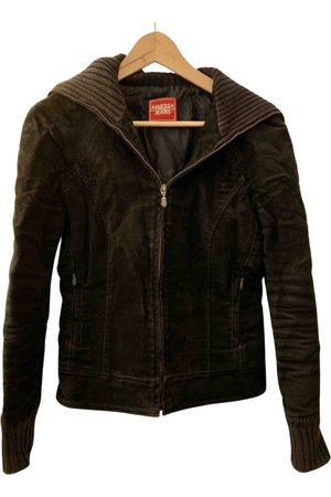 Guess Synthetic Leather Jackets
