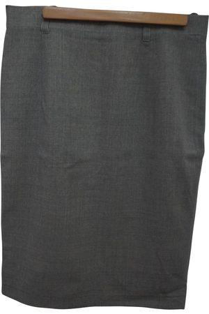 Jil Sander Women Midi Skirts - Wool mid-length skirt