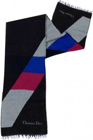 Dior Multicolour Wool Scarves