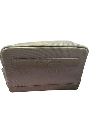 Bvlgari Men Wallets - Grey Synthetic Small Bags\, Wallets & Cases