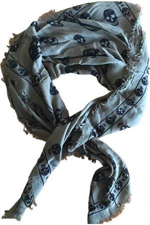Alexander McQueen Khaki Scarves