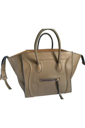 Céline Khaki Leather Handbags