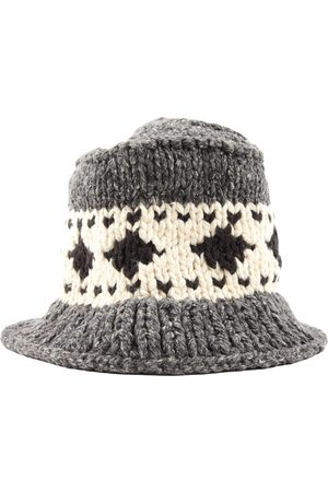 R BY 45 RPM Grey Cotton Hats