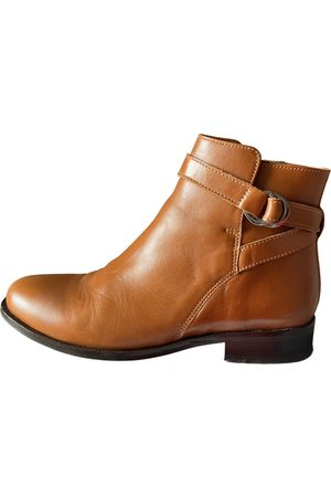 Minelli Women Ankle Boots - Leather buckled boots