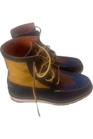 Dsquared2 Multicolour Leather Boots