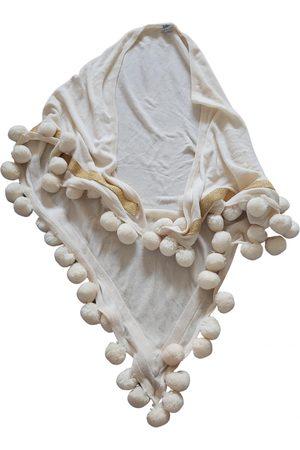 BELLA FREUD Ecru Wool Scarves
