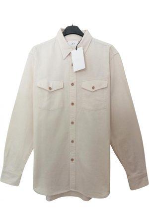 Mr P. Ecru Cotton Shirts
