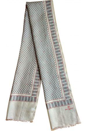 Paco rabanne Ecru Silk Scarves & Pocket Squares