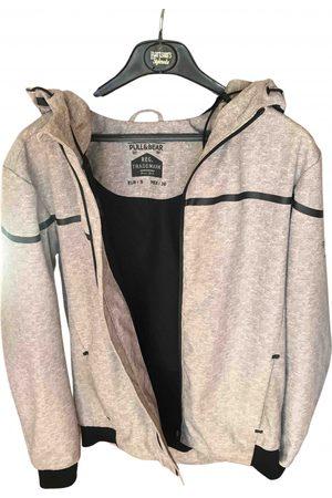Pull&Bear Grey Synthetic Jackets