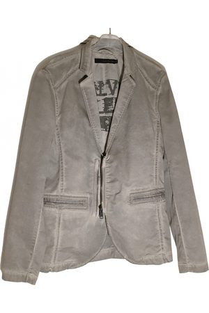 Calvin Klein Grey Cotton Jackets