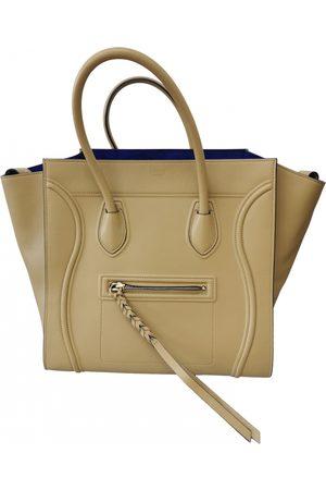 Céline Camel Leather Handbags