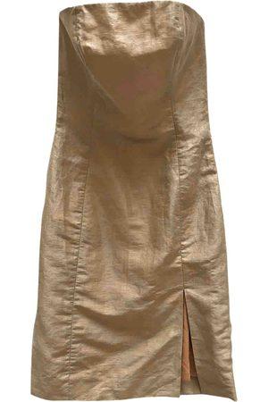 EMMANUELLE KHANH Linen mini dress