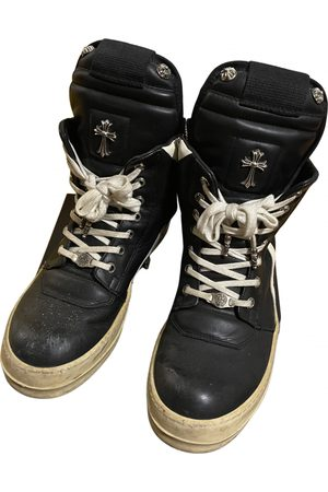 CHROME HEARTS Leather Trainers