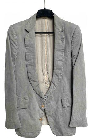 CAROL CHRISTIAN POELL Men Jackets - Grey Cotton Jackets