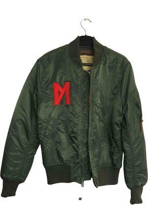 Alpha Industries Khaki Polyester Jackets