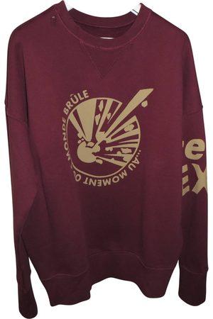 FAITH CONNEXION Burgundy Cotton Knitwear & Sweatshirts