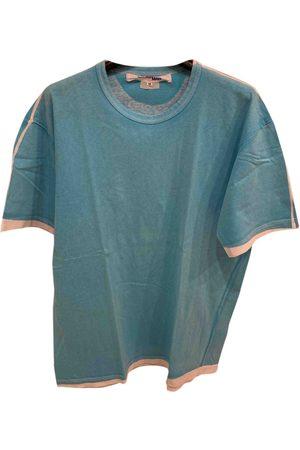 JUNYA WATANABE Turquoise Cotton T-Shirts