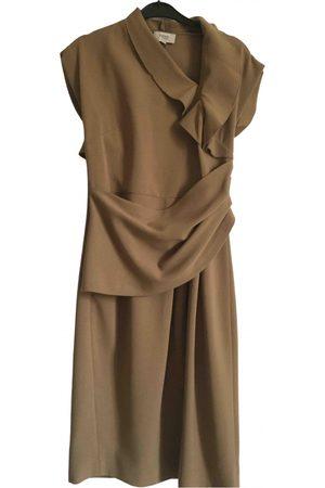 Hoss Intropia Camel Polyester Dresses