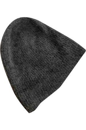 Sandro Grey Wool Hats & Pull ON Hats