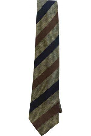 Emanuel Ungaro Men Neckties - Camel Cotton Ties