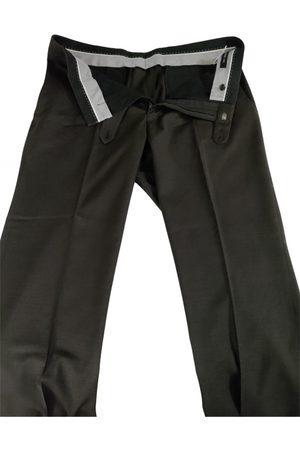 John Varvatos Grey Cotton Jeans