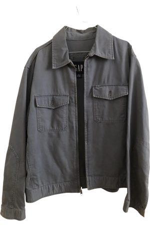 GAP Grey Cotton Jackets