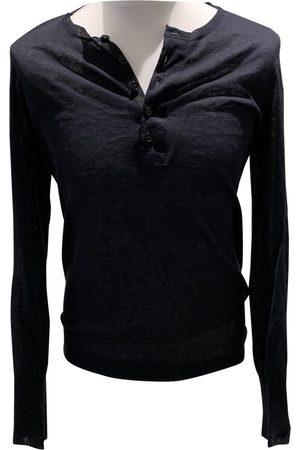 Neil Barrett Navy Silk Knitwear & Sweatshirts