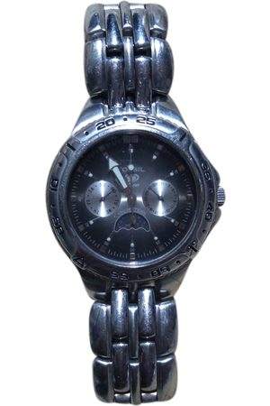 Fossil Navy Silver Watches