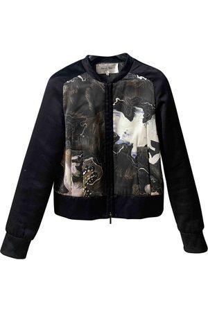 RUE DU MAIL Silk Leather Jackets