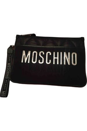 Moschino Cloth Clutch Bags