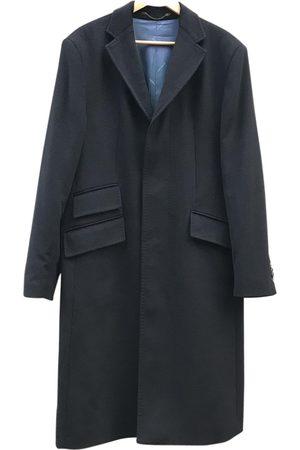Cacharel Navy Cashmere Coats