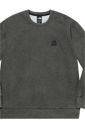 Supreme Anthracite Cotton Knitwear & Sweatshirt