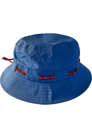 Supreme Turquoise Synthetic Hats & Pull ON Hats