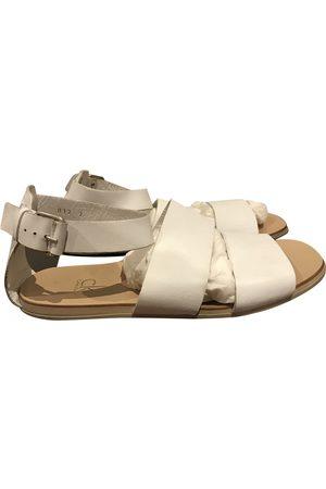 Calvin Klein Leather Sandals