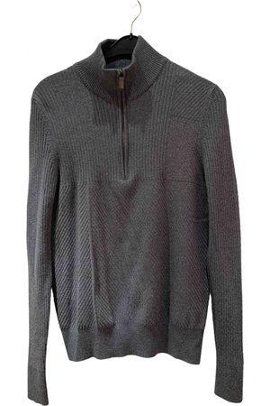 DIRK BIKKEMBERGS Grey Wool Knitwear & Sweatshirts