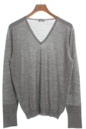 Dior Grey Wool Knitwear & Sweatshirts