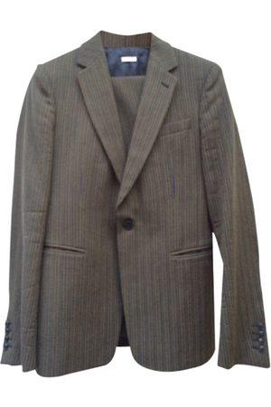 DRIES VAN NOTEN Khaki Cotton Suits