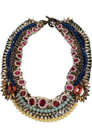 VENNA Multicolour Metal Necklaces