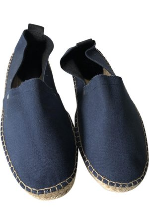 Sandro Navy Cloth Espadrilles