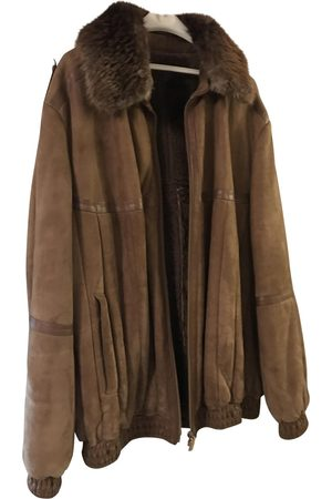 ZILLI Camel Leather Jackets