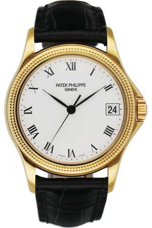 PATEK PHILIPPE Calatrava yellow gold watch