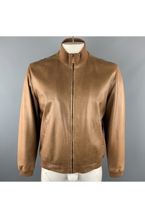 Ralph Lauren Ecru Leather Jackets