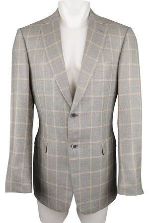 BRIONI Grey Wool Jackets