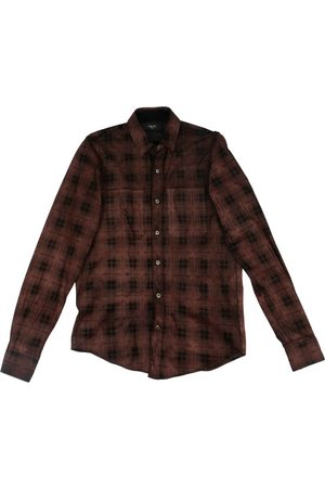 AMIRI Leather Shirts