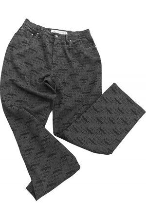 KRIZIA Grey Cotton - elasthane Jeans